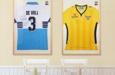 Voetbalshirts inlijsten
