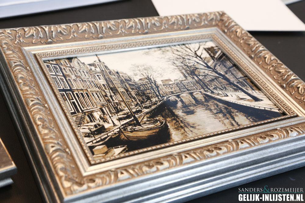 Amsterdams stadsgezicht barok lijst