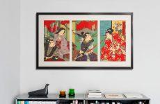 Japanse kunst inlijsten