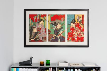 japanse kunst inlijsten lijstenmakerij amsterdam