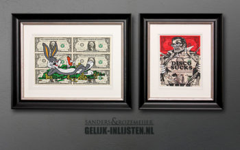 Moderne Kunst Inlijsten in Amsterdam