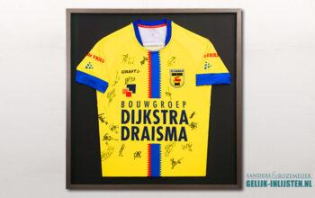 Voetbalshirt inlijsten SC Cambuur