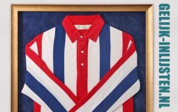 Wij hebben het mooiste eredivisie shirt aller tijden ingelijst.