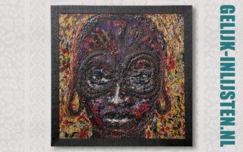 Afrikaanse kunst aan de muur
