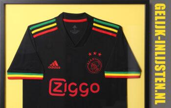 Bob Marley Ajax shirt inlijsten
